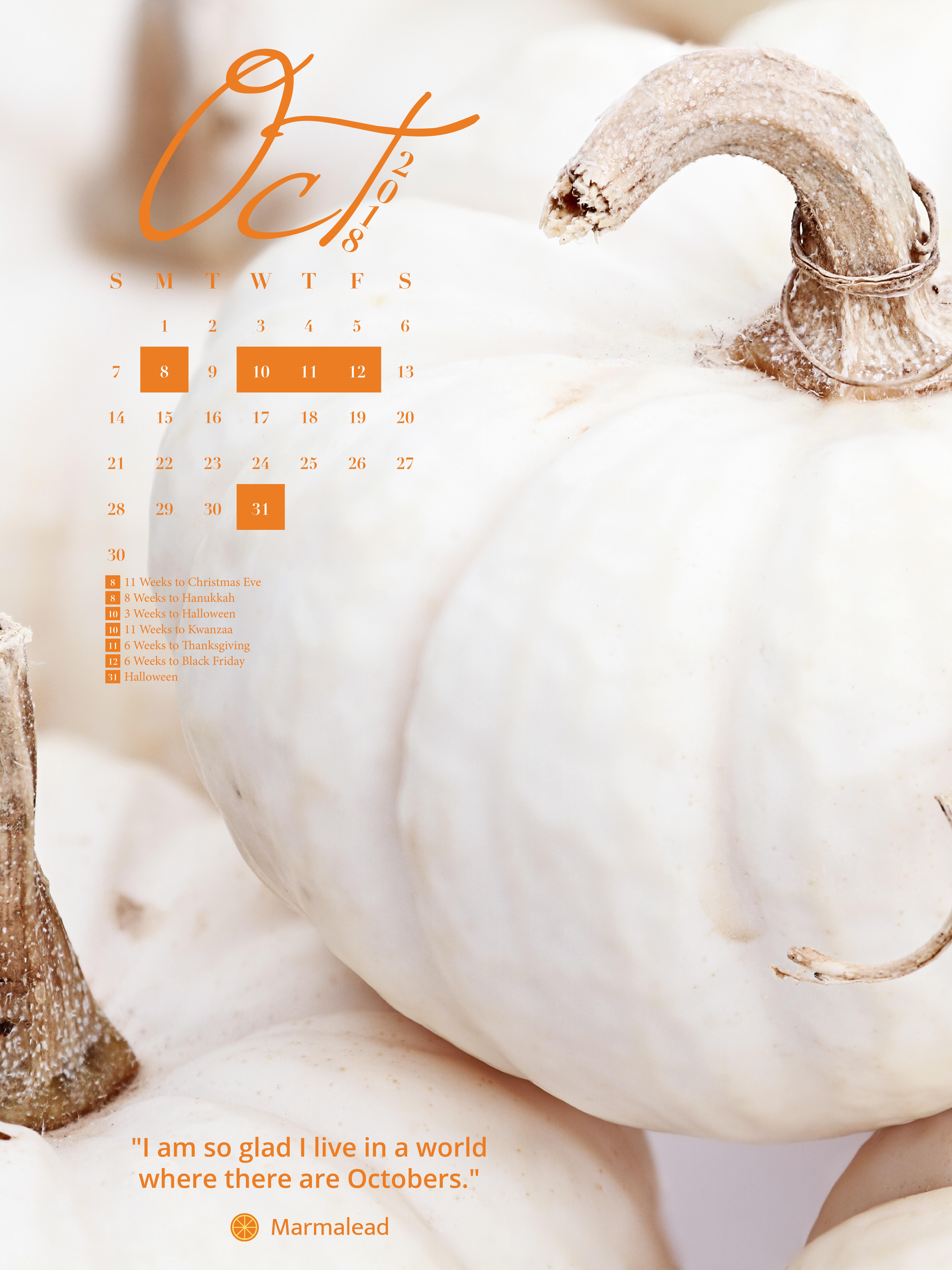 Desktop Calendar | iPhone Calendar ...